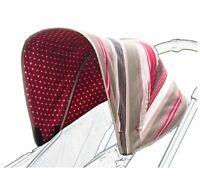 Poplico Reversible Canopy For Bugaboo Cameleon 3 cherry fits cameleon 1 & 2 bnip