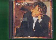 BILLY OCEAN - TIME TO MOVE ON CD APERTO NON SIGILLATO