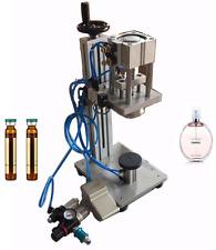 Pneumatic Perfume Bottle Crimping Machine Lid Cap Locking Machine Capper machine