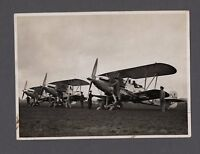 HAWKER HINDS ORIGINAL VINTAGE PRESS PHOTO RAF 1937