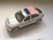 BMW X6 ** POLITI ** DANMARK POLICE 1/43 MODELCAR POLIZEI POLICIA
