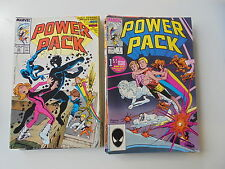 24x Power Pack US Comic Marvel mit Nr.1,6,12,19... Zustand 1/1-
