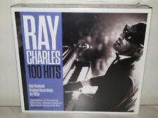 4 CD RAY CHARLES - 100 HITS