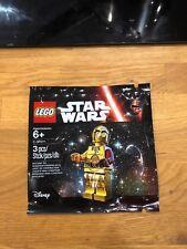 STAR WARS LEGO C3po C-3po rouge bras Mini Figure 5002948 polybag 2015
