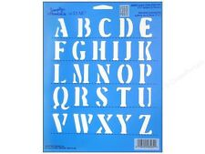 PlaID - Simply Stencil 8 x10 Upper Case Letters
