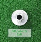 VITAVON CNC Alu7075 diff case for Axial RBX10 Ryft 4WD Bouncer 1/10 Silver