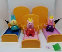Peppa Pig Figures Toys Peppa Bundle Joblot Crown Royal Throne Furniture RD