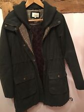 LINEA Weekend Womens Wax Jacket Size 12 Excellent Condition