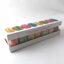 Macaron Box - ready for you to fill with macaroons: Can hold 7 macaroons.