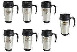 Personalised Travel Mug Choose Design