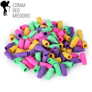 Mr. Pen - Pencil Erasers, Top 100 Pieces Cap Eraser Tops, Toppers, School...