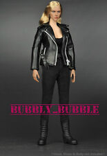 ZY Toys T800 1/6 Leather Jacket Set For Hot Toys Phicen Female Body SHIP FROM US