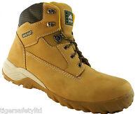 Rock Fall Flint S3 Honey Nubuck Composite Toe Cap Hiker Safety Boots Work Boots
