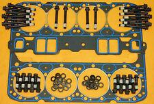 Fel-Pro Sbc Aluminum Head Gaskets Bolts Washers Felpro 1205 arp 134-3601