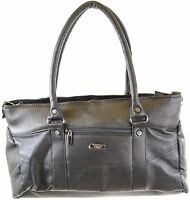 Ladies Nappa Leather Handbag / Shoulder Bag with Detachable / Adjustable Strap