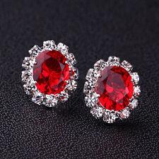 Neu New Fashion Women Elegant Crystal Rhinestone Ear Stud Earrings Gift Jewelry