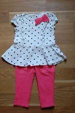 Gepunktete Baby-Hosen & -Shorts für Mädchen aus Baumwollmischung