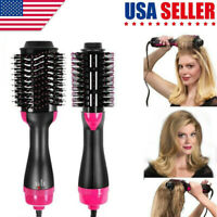 3 in1 Hair Blow Dryer Brush Comb Hot Air Hair Straightener Hair Tool Beauty US