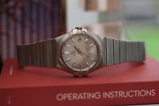 Omega Constellation Mens 123.10.35.60.02.001 36mm Mid Size 2014 Shop Ex-Display