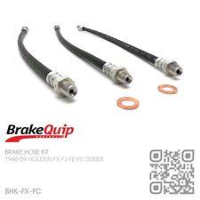 BRAKEQUIP BRAKE HOSE KIT [1948-59 HOLDEN FX-FJ-FE-FC SPECIAL/STANDARD/UTE/VAN]