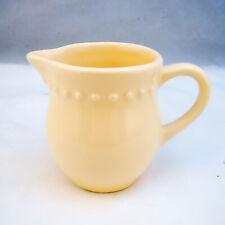 Pottery Barn EMMA YELLOW Creamer