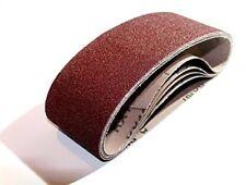 10 Stück Bandschleifer P40 Schleifgewebe Schleifband 533 x 75 mm