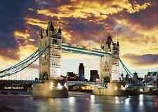 SCHMIDT JIGSAW PUZZLE LONDON TOWER BRIDGE 1000 PCS #58181