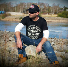 Biker t-shirt Vtwin Harley rocker Skull tatuaje King Custom Monkeys camisa hasta 5xl