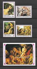 GRENADINES N°1160/1163 & BLOC N°206 RUBENS 1990  NEUF ** LUXE TOP AFFAIRE !!!!!