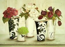 Kathryn White: Tulip Elegance Fertig-Bild 50x70 Wandbild Landhaus Shabby