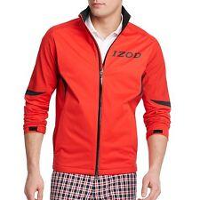 IZOD Golf Men's Waterproof Wind-Resistant Full Zip Jacket $145 Red NEW XL