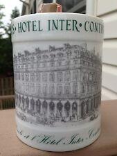 """CAMUS """"Inter-Continental HOTEL PARIS CENTENAIRE 1878-1978"""" Limoge Cognac Bouteille"""