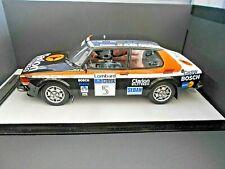 SAAB 99 Turbo Rallye Gr.2 RAC GB WM 1980 #9 Blomqvist Clarion Tecnomodel 1:18