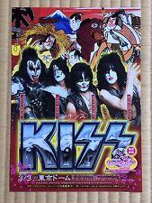 Kiss 2015 Japan Tour Flyer Rare