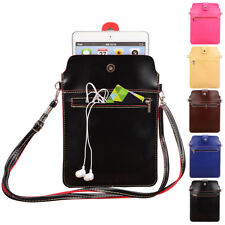 """Tablet Leather Sleeve Pouch Shoulder Bag Case For iPad Mini 5 / 8"""" Lenovo Tab E8"""