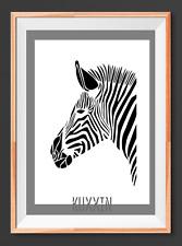 Zebra  A4  Mylar Reusable Stencil Airbrush Painting Art Craft