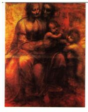 Postcard: Virgin and Child with St Anne - Leonardo da Vinci