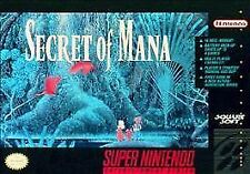 Secret of Mana (Super Nintendo Entertainment System, 1993) GAME ONLY SNES NES HQ