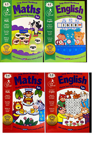 Leap Ahead Maths & English Book Reception Starting School Workbooks 4-5 and 5-6