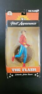 🔥DC Direct First Appearance - The Flash - Action Figure 🔥 W/ Comic Book