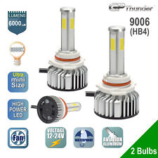 4-Sides 120W LED Headlight Kit 9006 HB4 Low Beam Light 6000K XENON 2-bulbs