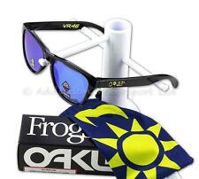 OAKLEY Kids Youth Frogskins XS Valentino Rossi VR46 Black Frame, Prizm Sapphire