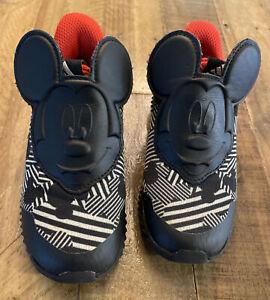 adidas Fortarun Mickey AC Shoe - Toddler's Running, Black, Size 10 US