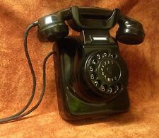 W49 Tisch-Wandtelefon altes Telefon Bakelit  Telephone TOP!
