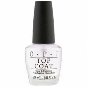 OPI TOP COAT Mini Nail Polish 3.75ml Bottle ***CLEARANCE STOCK***