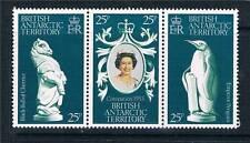 British Antarctic 1978 Coronation 3v set SG 86/88 MNH
