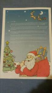Truly Personalised Letter From Santa And North Pole Stamped Envelope Santa Sack