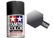 Tamiya 85040. Spray TS-40. Pintura esmalte color Negro Metalizado