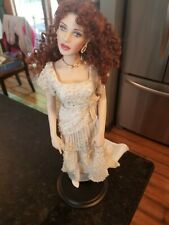 franklin mint titanic rose doll w/out packaging - White Dress - REUNITED
