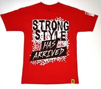 WWE NXT Nakamura Tshirt Smackdown Red Mens Strong Style Extra Small Wrestling